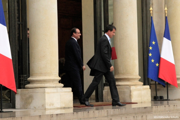 Hollande and Valls